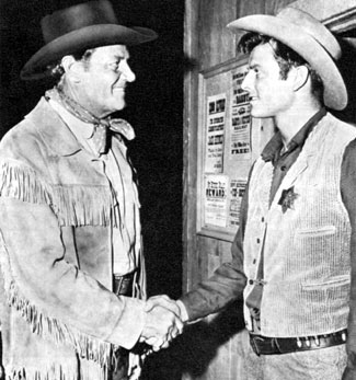 "Joel McCrea and his son Jody appeared together on NBC's 30 minute ""Wichita Town"" from September 30, 1959 to April 6, 1960."