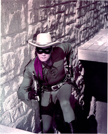 One of the most stunning publicity pics ever taken of Clayton Moore as The Lone Ranger. Taken at Corriganville. (Thanx to Neil Summers.)