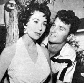 "Keith Larsen (""Northwest Passage"") and actress Susan Cummings were married on December 28, 1953. They divorced circa 1958. He married Vera Miles in 1960."