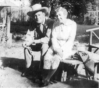 Buck Jones in 1938 with a lady named Molly. (Anyone know who she is?)