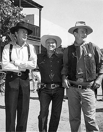 "Gene Autry hosted Gary Cooper, John Wayne and many others on ""Wide Wide World: Westerns"" on June 8, 1958. (Thanx to Bobby Copeland.)"