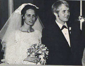 "Mark and Melinda Slade were married January 6, 1968. Slade was Blue on ""High Chaparral"". (Thanx to Paula Smith-Skidmore.)"