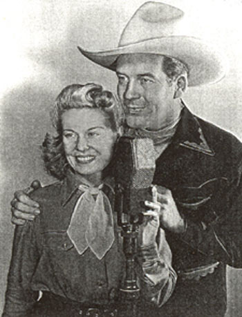 "Martha Mears and Dick Foran were featured on ""Dr. Pepper's 10-2-4 Ranch"" radio show in 1942, broadcast over 122 stations."