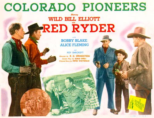 "Title Card for ""Colorado Pioneers""."