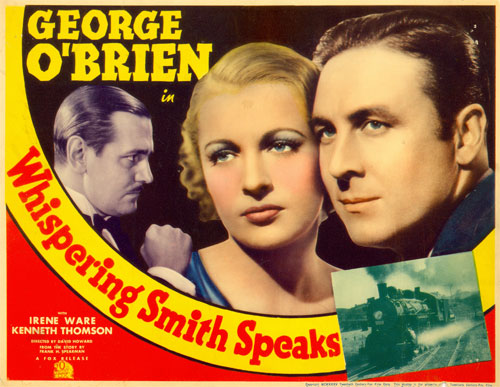 "Title card for ""Whispering Smith Speaks""."