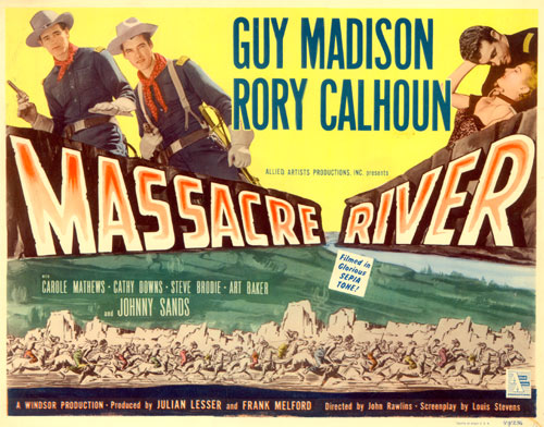 "Title card to ""Massacre River""."