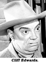Cliff Edwards.