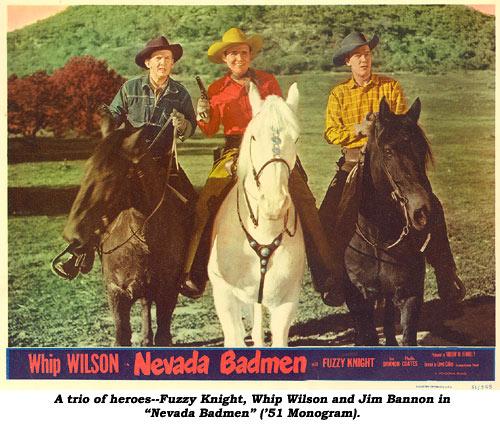 Whip Wilson Whip Wilson and Jim Bannon